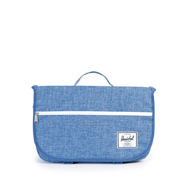 HERSCHEL POP QUIZ MESSENGER BAG IN LIMOGES CROSSHATCH  - 1