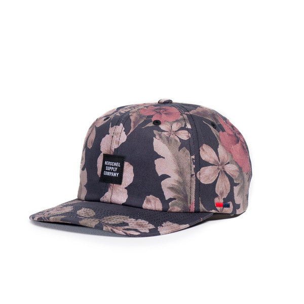 HERSCHEL ALBERT 6-PANEL CAP IN HAWAIIAN CAMO