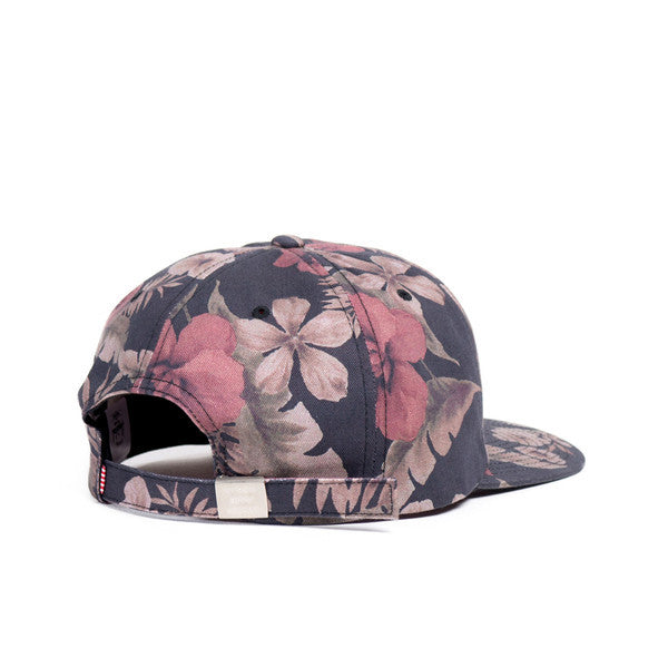 HERSCHEL ALBERT 6-PANEL CAP IN HAWAIIAN CAMO  - 2
