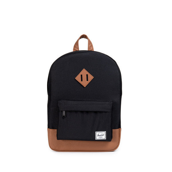 HERSCHEL HERITAGE YOUTH BACKPACK IN BLACK