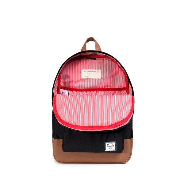 HERSCHEL HERITAGE YOUTH BACKPACK IN BLACK  - 3