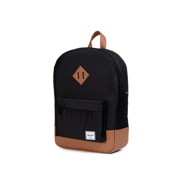 HERSCHEL HERITAGE YOUTH BACKPACK IN BLACK  - 2
