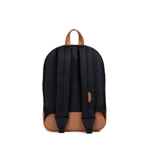 HERSCHEL HERITAGE YOUTH BACKPACK IN BLACK  - 4