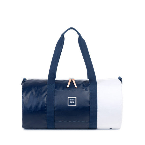 HERSCHEL SUTTON DUFFLE BAG IN NAVY AND DRESS BLUES POLYCOAT  - 1