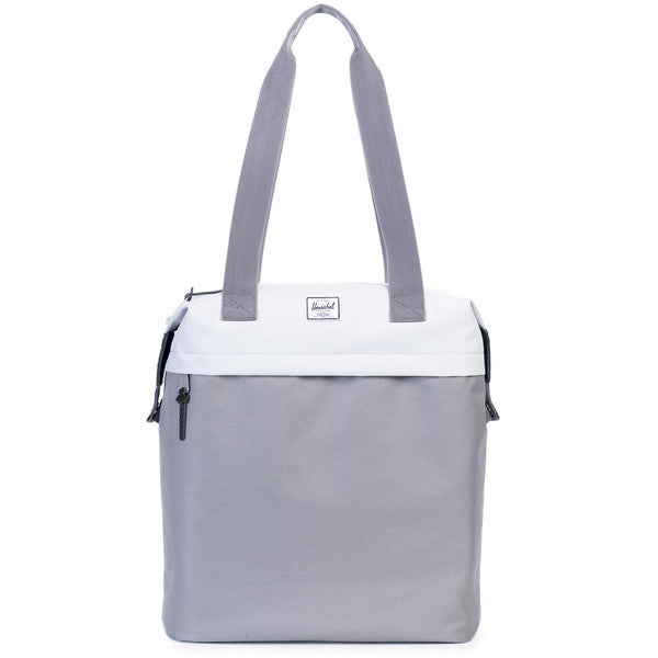 HERSCHEL COLLINS TOTE BAG IN LUNAR ROCK AND GREY  - 1