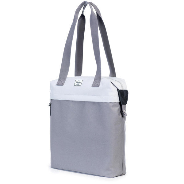 HERSCHEL COLLINS TOTE BAG IN LUNAR ROCK AND GREY  - 2