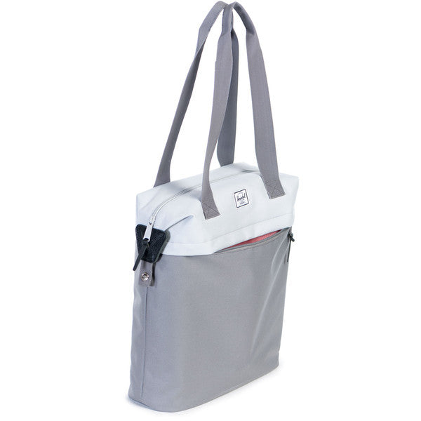 HERSCHEL COLLINS TOTE BAG IN LUNAR ROCK AND GREY  - 3
