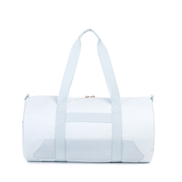 HERSCHEL SPARWOOD DUFFLE BAG IN METAL AND WHITE WITH MESH  - 3