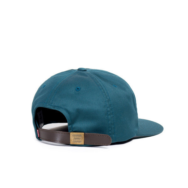 HERSCHEL HARWOOD 6-PANEL CAP IN LEGION BLUE  - 2