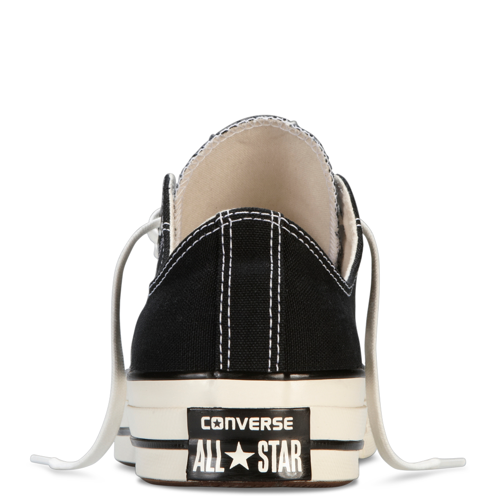 CONVERSE CHUCK TAYLOR ALL STAR '70 LOW-TOP IN BLACK  - 4