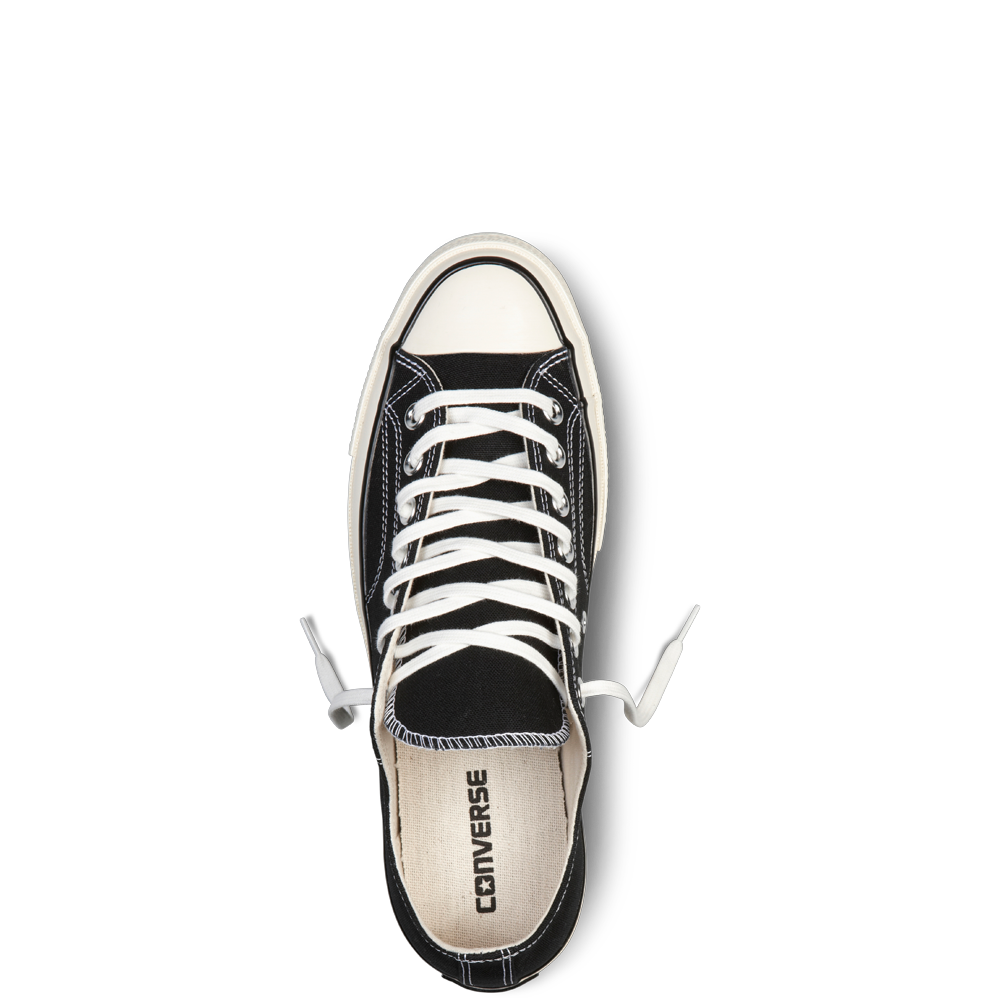 CONVERSE CHUCK TAYLOR ALL STAR '70 LOW-TOP IN BLACK  - 5