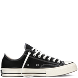 CONVERSE CHUCK TAYLOR ALL STAR '70 LOW-TOP IN BLACK  - 1