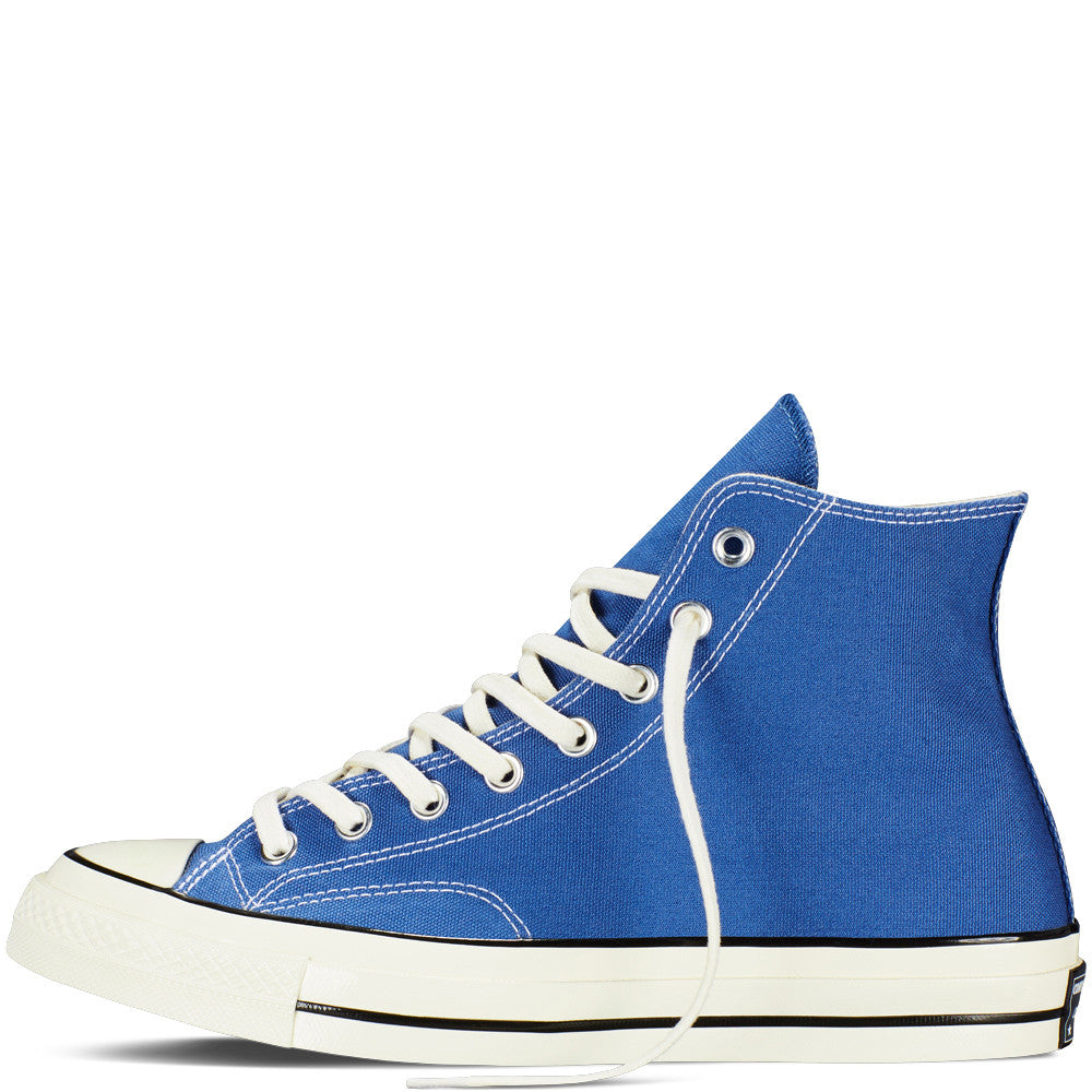 CONVERSE CHUCK TAYLOR ALL STAR '70 HIGH-TOP IN VINTAGE CANVAS IN TRUE NAVY  - 2