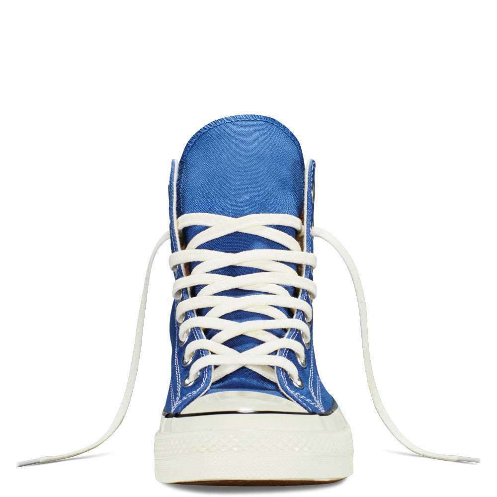 CONVERSE CHUCK TAYLOR ALL STAR '70 HIGH-TOP IN VINTAGE CANVAS IN TRUE NAVY  - 3