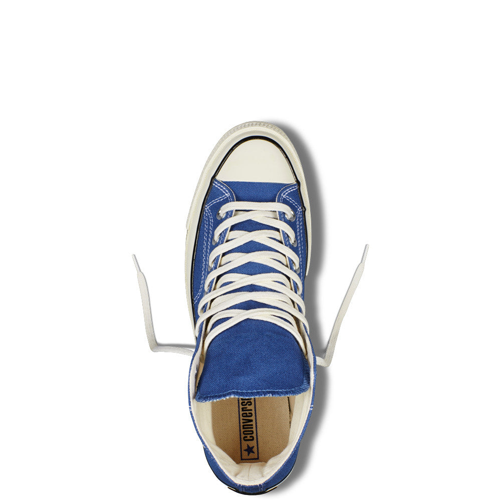 CONVERSE CHUCK TAYLOR ALL STAR '70 HIGH-TOP IN VINTAGE CANVAS IN TRUE NAVY  - 5