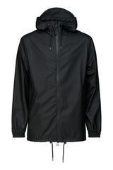 RAINS BLACK STORM BREAKER JACKET