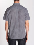 FRED PERRY CLASSIC GINGHAM SHIRT IN BLACK  - 3