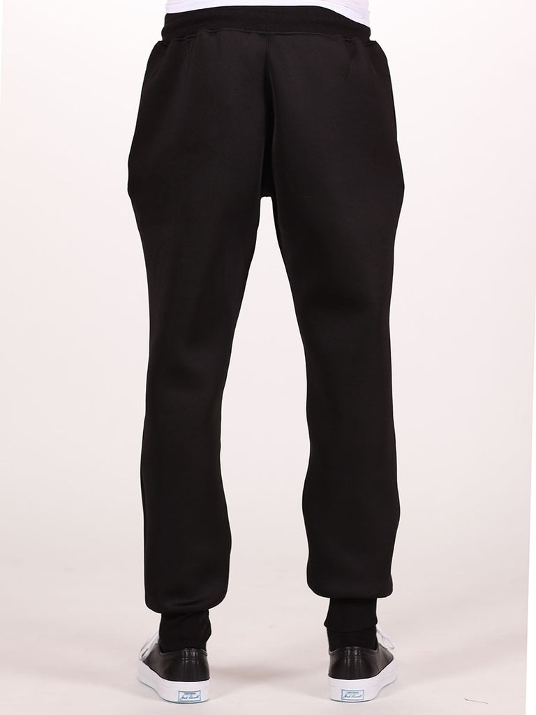 BOY LONDON NEOPRENE SWEATPANTS IN BLACK  - 3