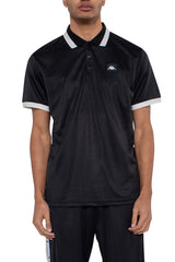 KAPPA AUTHENTIC JPN COBY POLO SHIRT IN BLACK