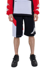 KAPPA AUTHENTIC RACE CIRRY BERMUDA SHORTS IN BLACK