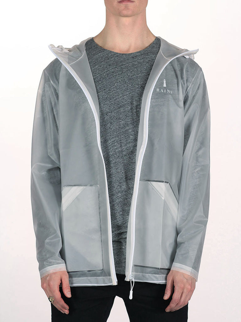 RAINS LIMITED EDITION TRANSPARENT JACKET  - 1