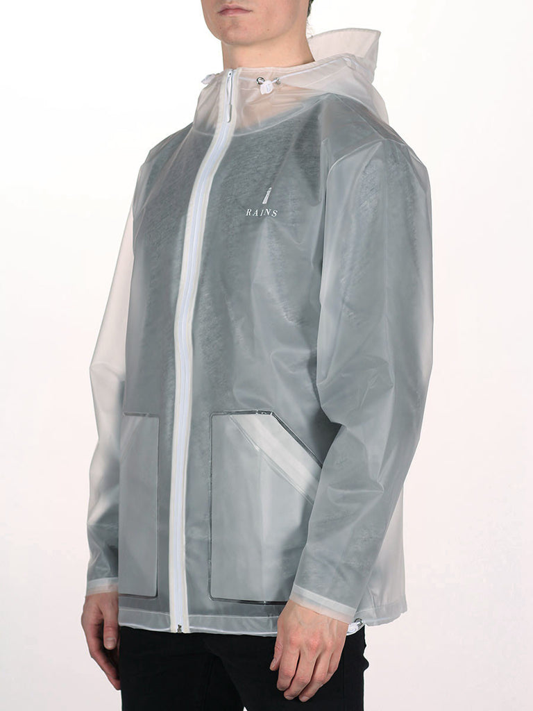 RAINS LIMITED EDITION TRANSPARENT JACKET  - 3