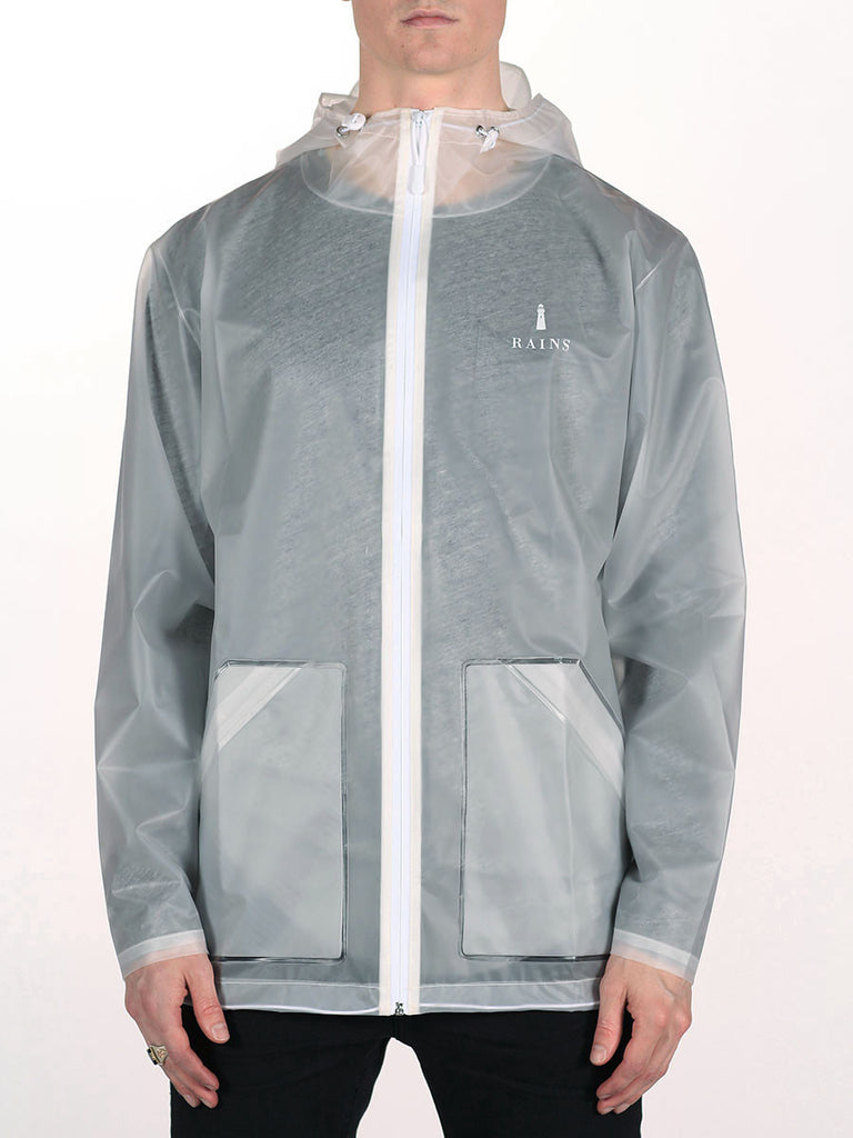 RAINS LIMITED EDITION TRANSPARENT JACKET  - 2