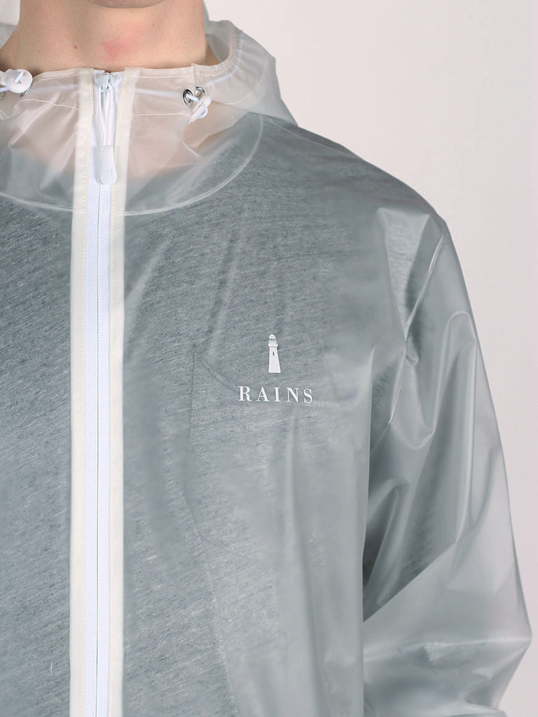 RAINS LIMITED EDITION TRANSPARENT JACKET  - 6