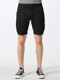 SCOTCH & SODA BASIC CARGO SHORTS IN BLACK  - 1