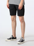SCOTCH & SODA BASIC CARGO SHORTS IN BLACK  - 2