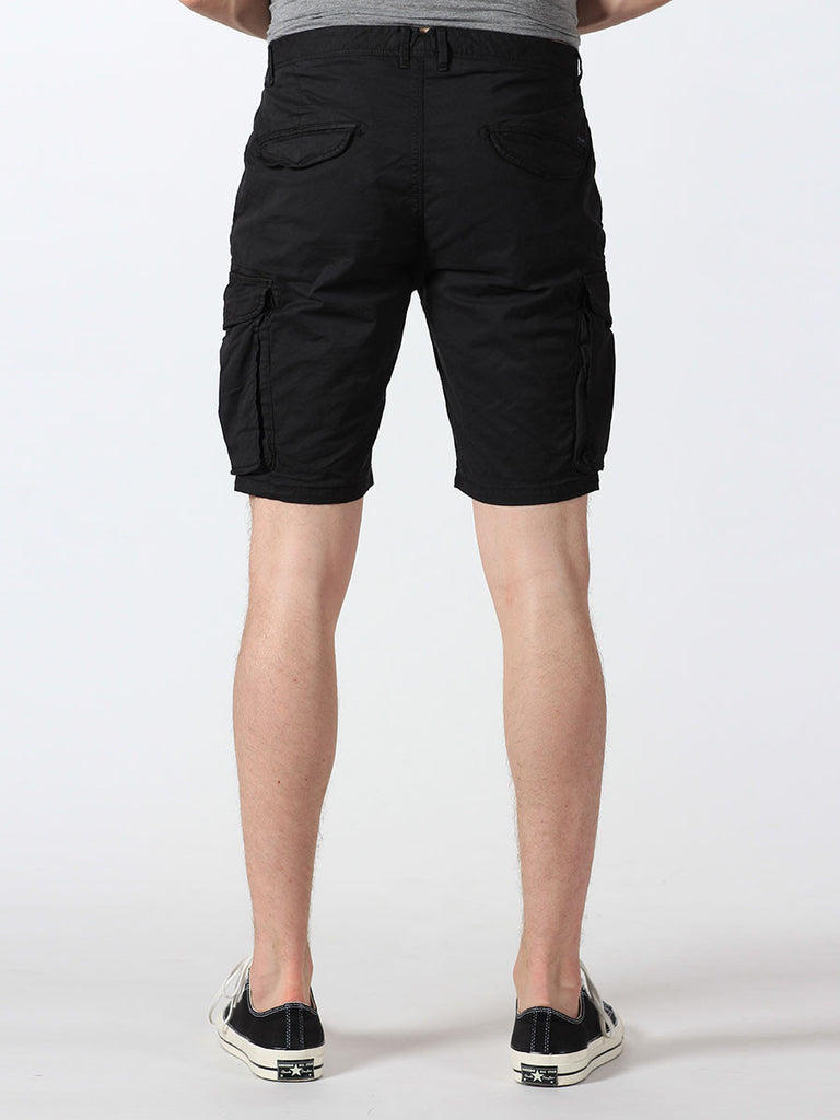SCOTCH & SODA BASIC CARGO SHORTS IN BLACK  - 3