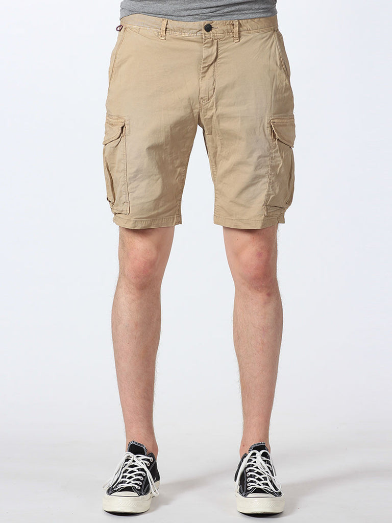SCOTCH & SODA BASIC CARGO SHORTS IN SAND  - 1