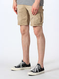 SCOTCH & SODA BASIC CARGO SHORTS IN SAND  - 2