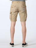 SCOTCH & SODA BASIC CARGO SHORTS IN SAND  - 3