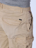 SCOTCH & SODA BASIC CARGO SHORTS IN SAND  - 4