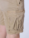 SCOTCH & SODA BASIC CARGO SHORTS IN SAND  - 5