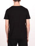 WORKSHOP PREMIUM V-NECK T-SHIRT IN BLACK  - 3