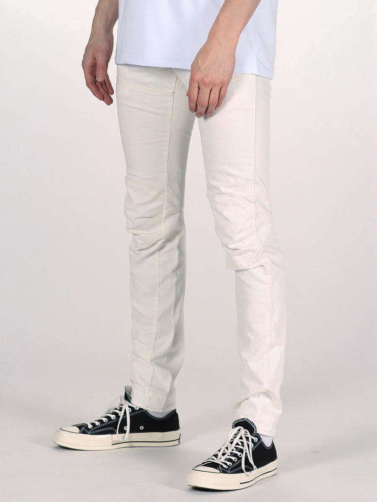 G-STAR ELWOOD 3D SUPER SLIM JEANS IN INZA WHITE  - 2