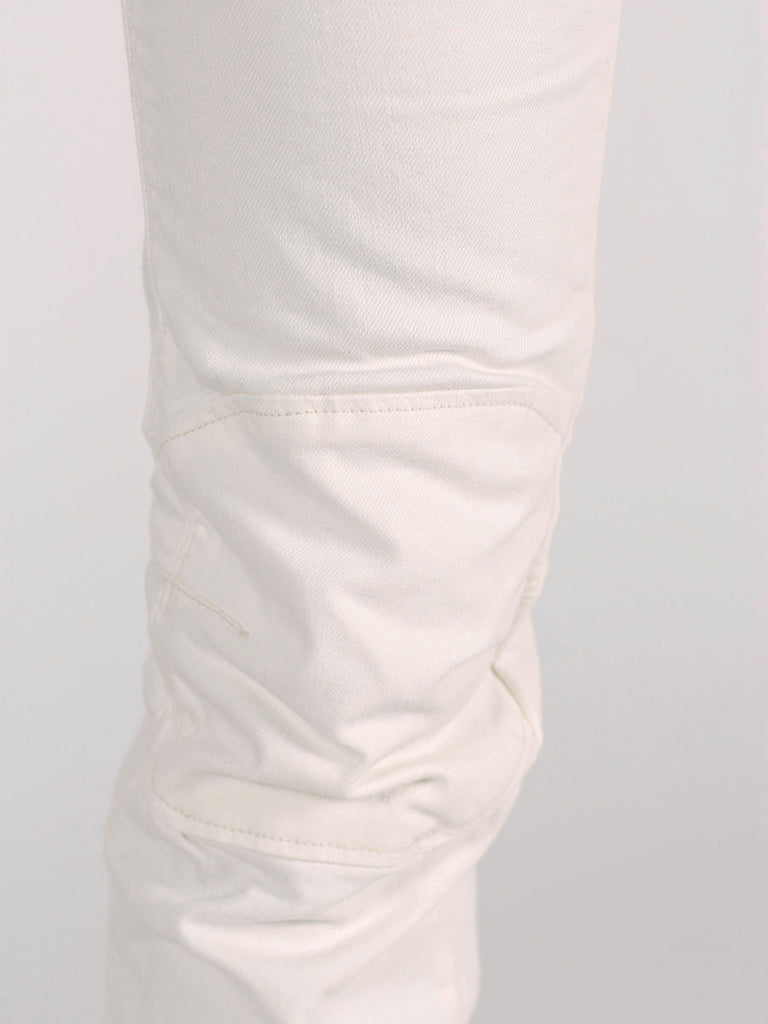 G-STAR ELWOOD 3D SUPER SLIM JEANS IN INZA WHITE  - 4
