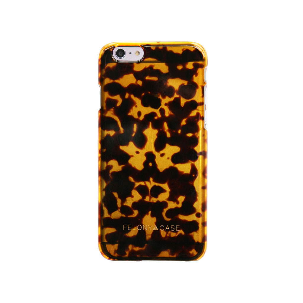 FELONY TORTOISE PRINT IPHONE 6/6S PLUS CASE  - 1