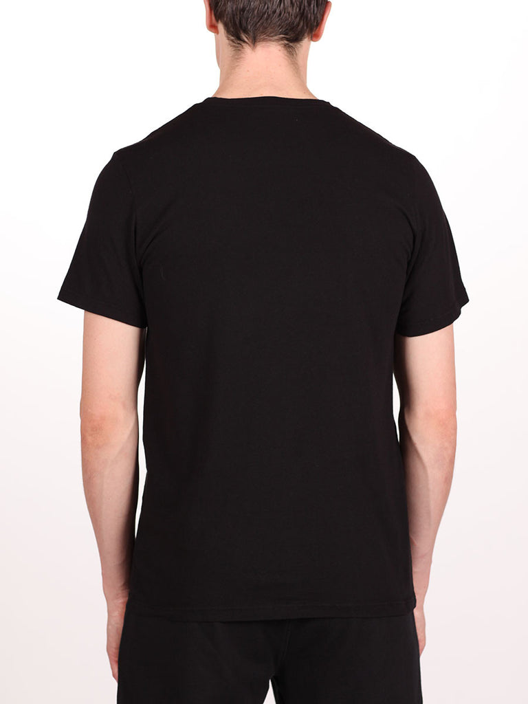 WORKSHOP PREMIUM CREWNECK T-SHIRT IN BLACK  - 3