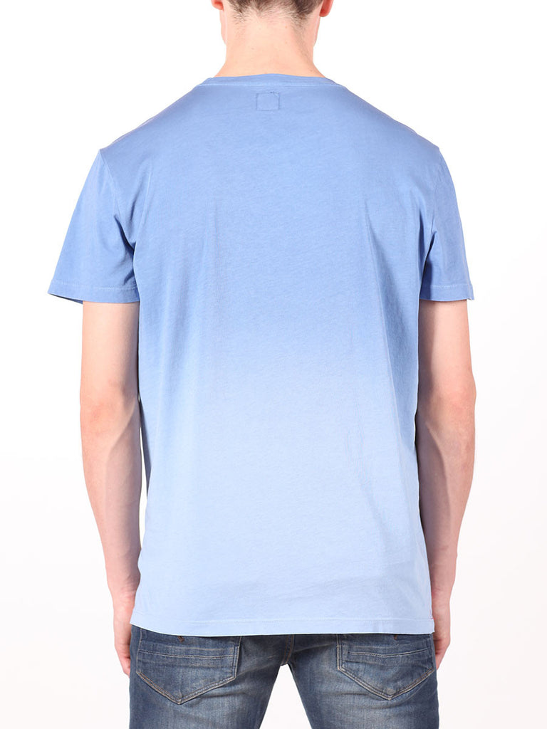 BENSON X WORKSHOP T-SHIRT IN BLUE  - 3