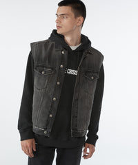 KSUBI KALIFORNIA VEST THROWBLACK