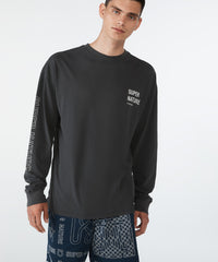 KSUBI SUPER NATURE LONG-SLEEVE TEE IN BACK TO BLACK