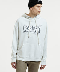 KSUBI ASHES HOODIE IN BLEACHED WHITE