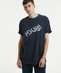 KSUBI AMPLIFIED T-SHIRT IN DARK GREY