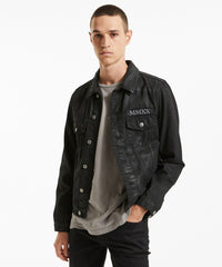 KSUBI CLASSIC DENIM JACKET IN ETERNO