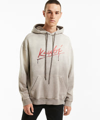 KSUBI FLINT BIGGIE HOODIE IN GREY
