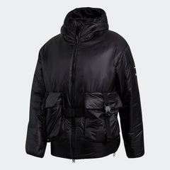 Y-3 CH3 LIGHTWEIGHT PUFFER JACKET IN BLACK
