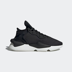 Y-3 KAIWA SNEAKERS IN BLACK/CORE WHITE
